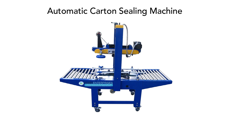Automatic Carton Sealing Machine Manufacturer