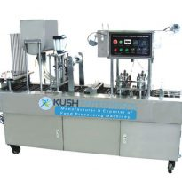 Automatic Cup Filling – Sealing Machine – Manufacturer & Exporter