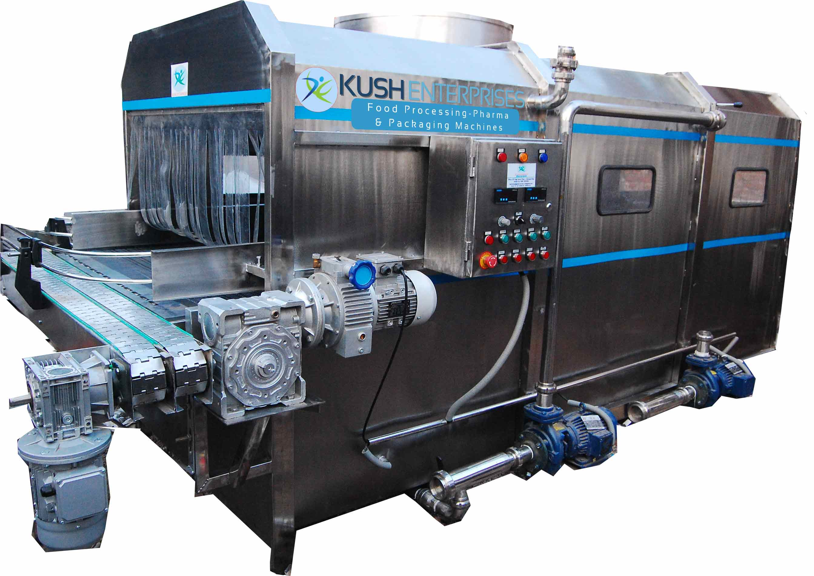 Kush Enterprises - Food Packaging & Processing Machines Manufacturer