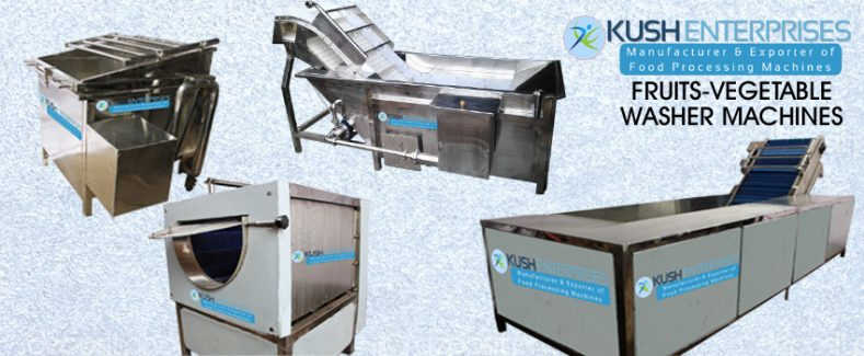 Fruits-vegetable Washer Machines-Kush Enterprises