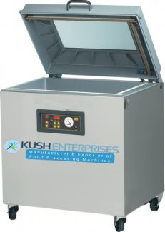 Single Chamber Vacuum Packaging Machine-Kush Entrprises