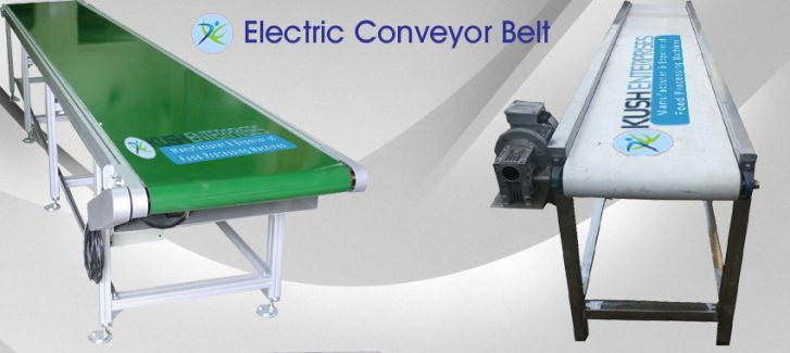 Electric-Conveyor-Belt-Kush-Enterprises-Manufacturer
