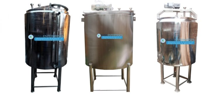Stainless Steel Tanks Manufacture and Supplier Industry -Kush Enterprises