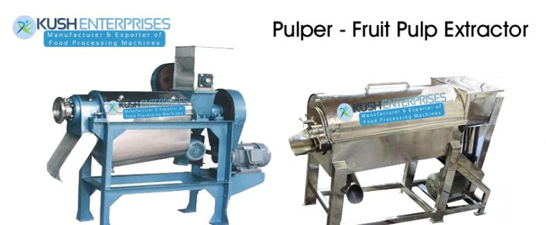 Pulper-Fruit Pulp Extractor Manufacturer-Supplier-India0Kush Enterprises