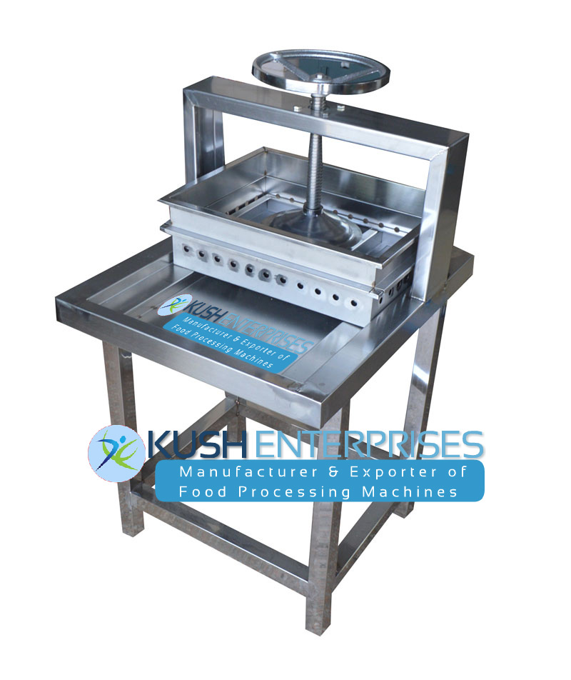 Tofu Press Hand Operated Paneer Making Machine